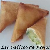 Briouates aux crevettes - Les Delices de Kenza