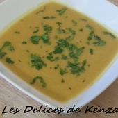 Soupe de potimarron et carotte - Les Delices de Kenza