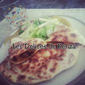 Gözlem ( Galette Turc ) a la Viande - Les Delices de Kenza