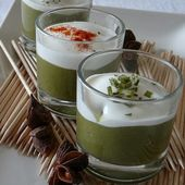 Verrine de haricots verts frais - Les Secrets de Cuisine de Christine