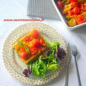 Cannellonis épinards et ricotta pour le défi de Recettes de - Les Secrets de Cuisine de Christine