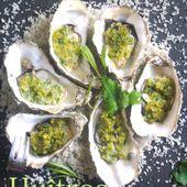 Huîtres presque Rockefeller : 9ème porte du Calendrier de l'Avent Gourmand - Les Secrets de Cuisine de Christine