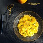 Salade d'orange à la fleur d'oranger et pistache - Les Secrets de Cuisine de Christine
