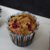 Muffins aux groseilles - laetycuisine.over-blog.com