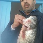 Youssef bat son record - Dorade Surfcasting