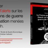 Rapport d'alerte - La France peut-elle vaincre Daech sur le terrain de la guerre de l'information? - RP Defense