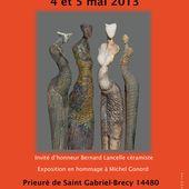 Marché de potiers Saint Gabriel Brécy 2013