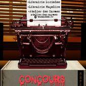 Concours de nouvelles Brèves de Sang d'Encre Vienne 2014 - 813 Le BLOG