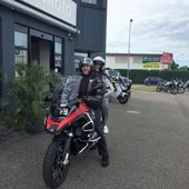 Goldwing - J'ai essayé la fameuse GS 1200 adventure - Le blog de UNSER'S BANDE DE BIKERS du 67