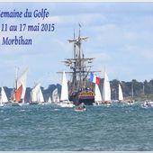 260 - La semaine du Golfe du Morbihan, rassemblement de voiliers traditionnels, mai 2015, photos GeoMar, circuit cotier, Locmariaquer, Kerpenhir -