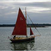 292 - En passant par le Golfe du Morbihan... Rivière d'Auray, Kerplouz, port de Saint-Goustan, Saint Sauveur, ruelles bateaux anciens, GeoMar photos, - SKREO