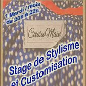 couture / stages de stylisme et customisation - PASSE TEMPS