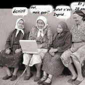 Qu'est-ce qui te fait rire Mémé ? -