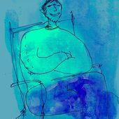 bleu - Gilbert Pinna, le blog graphique