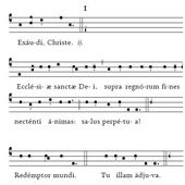 Christus vincit - Ensemble Vocal de Saint François Xavier