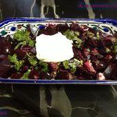 Salade de betterave - Les saveurs culinaires de Rosa