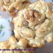 Mini tartelettes au roquefort et aux noix - Les saveurs culinaires de Rosa
