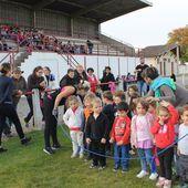 Le CROSS des maternelles - Ecole Saint-Pierre Casseneuil