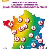 MARCHES pour la PAIX le 24 Septembre 2016 - Blog des Militants Communistes de l'Arrageois