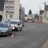 Attention chantier : Piétons prenez le trottoir d'en face...si vous le pouvez ! - Violence Routière 41 - Bougez autrement à Blois - Bougez autrement dans le val de Loire -