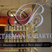 Carte des thés et des infusions - Betjeman and Barton - Rouen