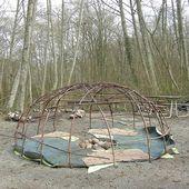 La hutte à sudation des amérindiens : Une bonne suée ! - coco Magnanville