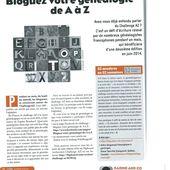 challenge de a a z avril 2013 - Le blog de karineandco.over-blog.fr