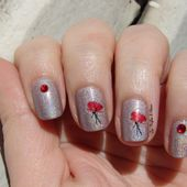 Stickers Coquelicot Stick & Nails - Les ongles d'Alexia