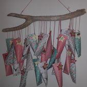 DIY Calendrier de l'Avent Fait Main par Maman Lulu {#Toga}{#DIY}{#Noel}{#Calendrierdelavent}{#Edding}