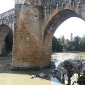 Vieux pont d'Orthez , Orthez ( Pyrénées-Atlantiques 64 ) AA - ONVQF.over-blog.com