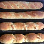 Baguettes (pain blanc)