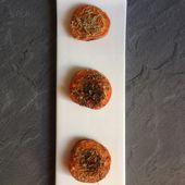 Abricots rôtis aux herbes aromatiques