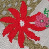 Des fleurs pour un projet .... - Le blog de tricotdamandine.over-blog.com