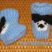 D'autres chaussons pour les prémas de Melun ... - Le blog de tricotdamandine.over-blog.com