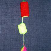 Un jouet pour les minous ... - Le blog de tricotdamandine.over-blog.com