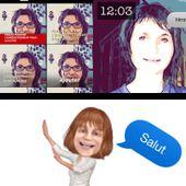 Clips d'#Apple : une app vidéo où votre voix se transforme en texte ! #AppArtist - Mère et fille 2.0