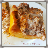 Courgettes farcies ww (Cookeo) - La cuisine de Boomy
