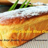 Brioche Magique et Rapide à la Vanille et au Curcuma (inspirée par COCO) - Ma Cuisine Bleu Combava