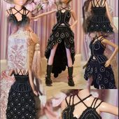 défi stylistique de Pipiou, ma petite robe noire - crea.vlgomez.photographe.over-blog.com