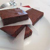 """Brownie au chocolat """" sans complexe """" - Coco Symphonie"""