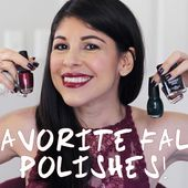 Top 5 Fall Nail Polish Favorites! 2015