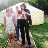 L'association ADMR Loisir Culture Environnement, déménage sa Yourte au Parc de la Poudrerie ! -...