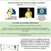 Ce soir à Carhaix: Un spectacle au profit du handicap