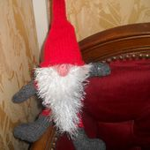 Gnome de Noël - quefairedemesdixdoigts.over-blog.com