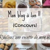 Mon blog a 1 an !! {concours inside} -