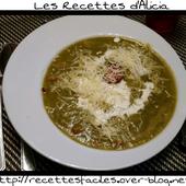 Soupe gourmande - Les recettes d'Alicia