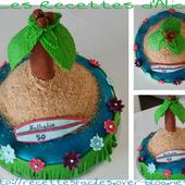 Gâteau île - Les recettes d'Alicia