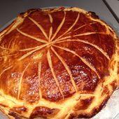 Galette frangipane au chocolat nestlé dessert café - Les recettes d'Alicia