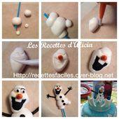 la reine des neiges - Les recettes d'Alicia