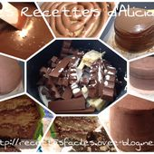 Ganache kinder - Les recettes d'Alicia